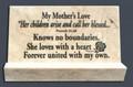 Jerusalem Stone My Mother's Love