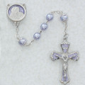 7mm Lavender Pearl Rosary