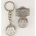 Sacred Heart Key Ring & Visor Clip Set