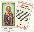 A Traditional St. Nicholas Prayer