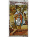 St. Mark Pewter Medal and Holy Card