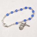 """5-1/2"""" Blue Baby Bracelet."""
