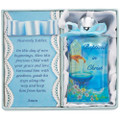 Blue Baptism Water Bottle W/Fountian
