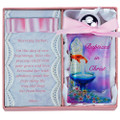 Pink Baptism Water Bottle W/Fountain