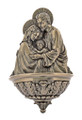Holy Family Font, Cold-Cast Bronze