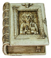 Christ The Teacher box in antique finish