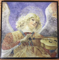 Angel with Violin by Melozzo de Forli