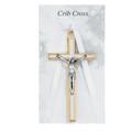 Baby's White Crucifix