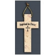 Jerusalem Stone Baptism Cross