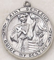 Creed-St. Genesius Patron Saint Medal. ss247