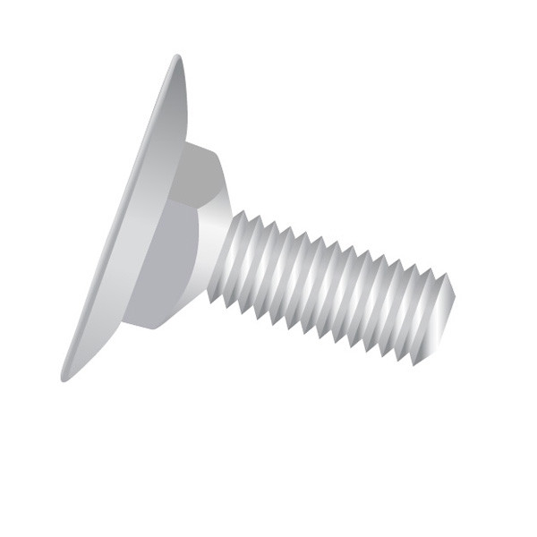 Pack of 700 Elevator Bolts 1//4-20 X 2 1//4