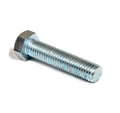 "1/4""-20 x 4 1/2"" (Ft) Grade-A Hex Tap Bolt Zinc"