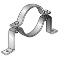 "4"" OFFSET PIPE CLAMP GALVANIZED"