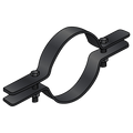 """3-1/2"""" STANDARD STEEL PIPE CLAMPS"""