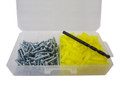 "3/16"" Ribbed Plastic Anchor Kits"