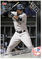 2017 Topps Now #307 3 HITS & 4 RBI IN MLB DEBUT YANKEES MIGUEL ANDUJAR
