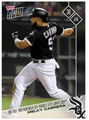 2017 Topps Now #312 1-OUT 2R WALK OFF DOUBLE LIFTS WHITE SOX MELKY CABRERA