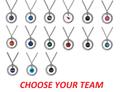 NFL Football Team Logo Womens Ladies Rhinestone Hoop Necklace Pick Your Team