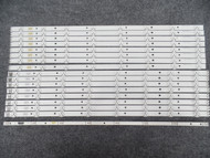 Samsung BN96-24613A/BN96-24614A Replacement LED Backlight Strips - 16 Strips