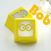 Three Beeline Minions Hand-Crafted Backlit Keycap