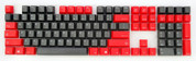 GeekKeys Red/Grey Top-printed Thick PBT Full Keyset