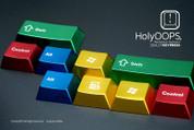 HolyOOPS RGB Aluminum 1.25 Keyset