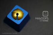 HolyOOPS Doraemon Bell 3D Aluminum Keycap