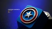 HolyOOPS Captain America Aluminum Keycap