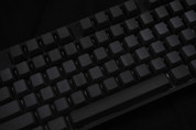 GeekKeys Dark Grey Blank Thick PBT Full Keyset