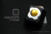 HolyOOPS Sunny Side Up Egg Aluminum Keycap
