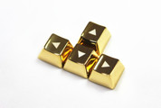 MKC Gold Triangle Metal (Zinc) Arrow Keyset