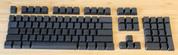Black Blank PBT 104-Keyset