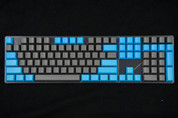 GeekKeys Blue/Grey Blank Thick PBT Full Keyset