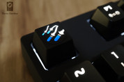 Three Beeline Pharah Missiles Hand-Crafted Backlit Keycap