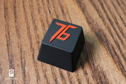Three Beeline 76 Hand-Crafted Backlit Keycap