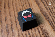Three Beeline Soldier 76 Icon Hand-Crafted Backlit Keycap