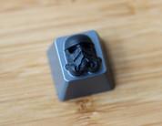 HolyOOPS Black Stormtrooper 3D Aluminum Keycap