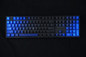 GeekKeys Gradient Blue Side-printed Thick PBT Full Keyset