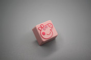 Three Beeline Peppa Pig Keycap
