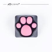 ZOMO Cat's Paw Aluminum Keycap (Black)