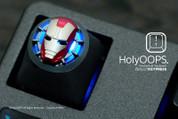 HolyOOPS Iron Man 3D Aluminum Keycap