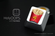 HolyOOPS French Fries Aluminum Keycap