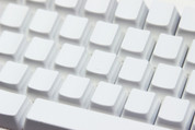 White Blank PBT 104-Keyset