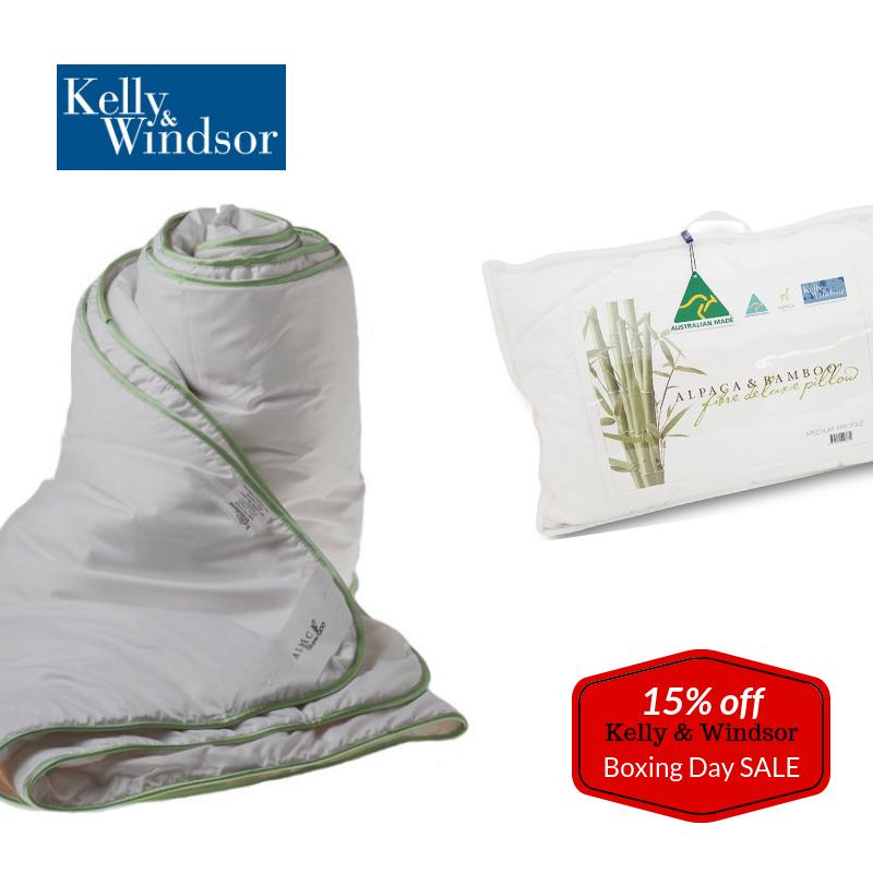 Kelly & Windsor Bedding - 15% Off
