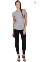 Women's Bamboo Soft Bamboo Leggings - Black