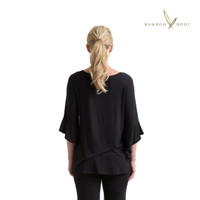 Women's Helena Bamboo Top - Black
