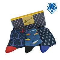 Fishin' Gift Set - Bamboo Socks in a Box