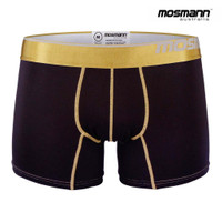 "Men's ""All Day Cool & Dry"" Bamboo Boxer Trunks - Panther"