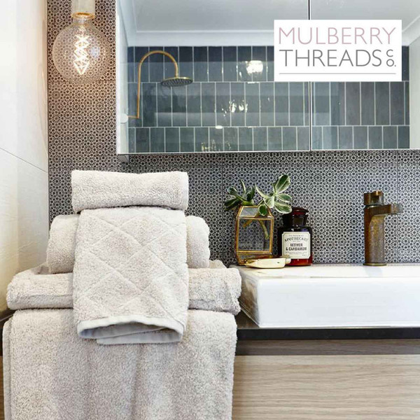 Mulberry Threads Co. Bamboo Towels - Stone
