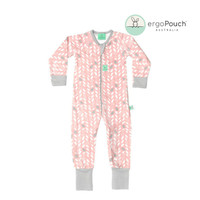 Layers Long Sleeve Sleep Wear (1.0 Tog) - Spring Leaves